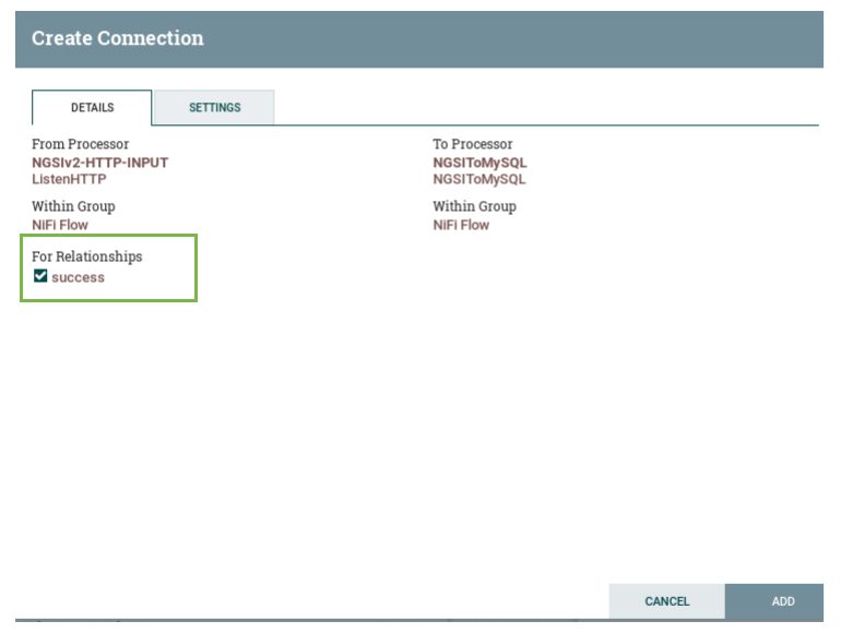 Connection Components - fiware-draco